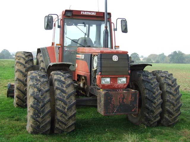 Parked up tractor