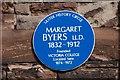 J3373 : Byers plaque, Belfast by Albert Bridge