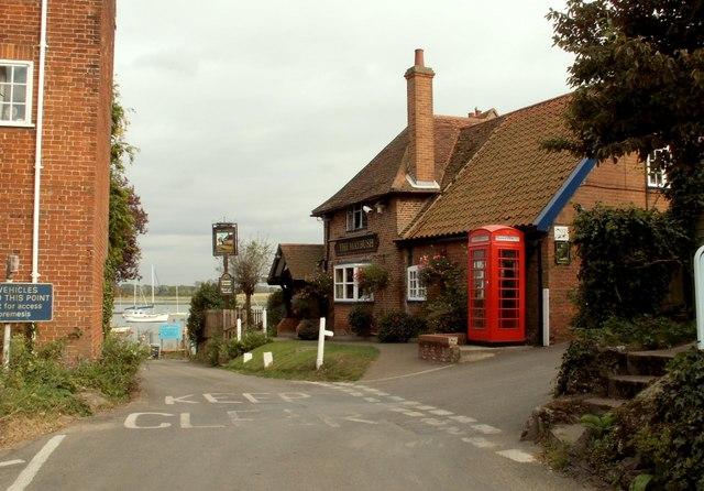 'The Maybush' public house