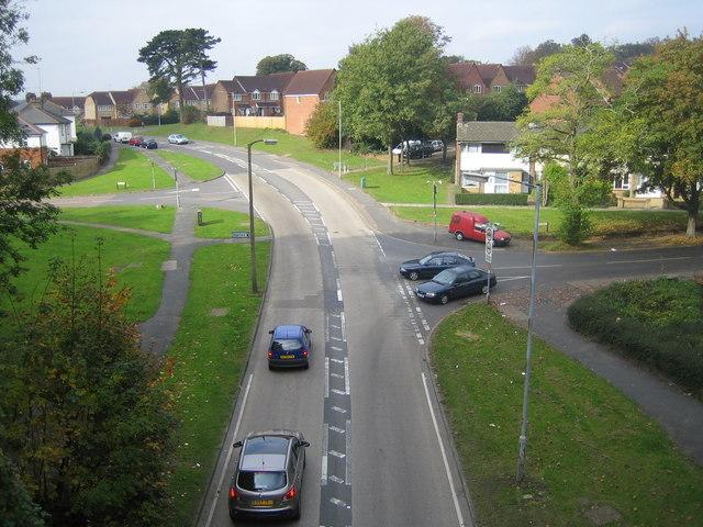 Hemel Hempstead: B487 Queensway