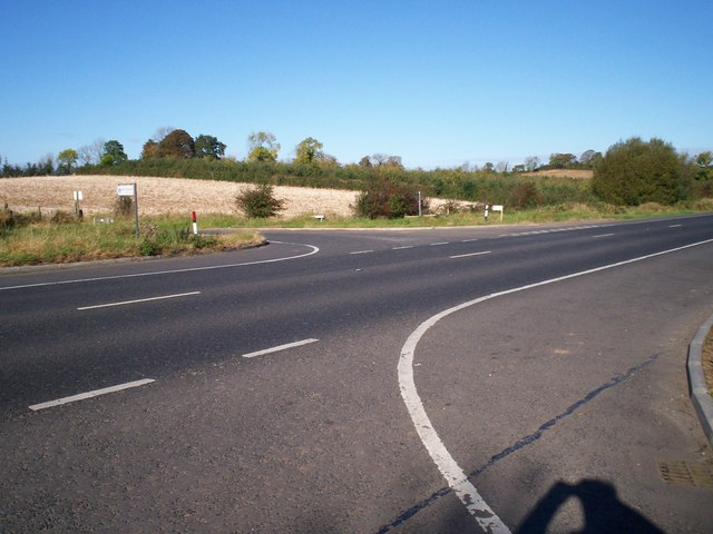 Junction of the Aghanore Road and the Moy Road, Armagh