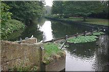 SK5907 : River Soar, Belgrave by Stephen McKay