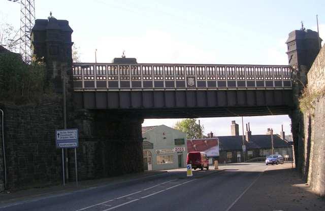 Road Bridge over Godley Lane