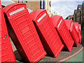 TQ1869 : Out of Order phone box sculpture by Mark Percy