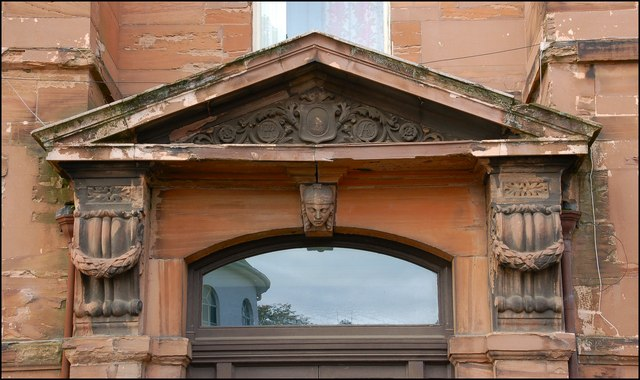 The Union Theological College, Belfast (detail) (1)