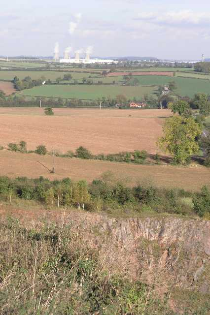 One view from Breedon Hill