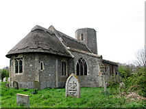 TM3898 : St Gregory's Church, Heckingham (1) by Evelyn Simak