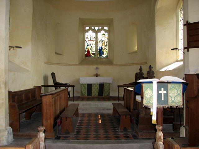 St Gregory's Church, Heckingham - chancel