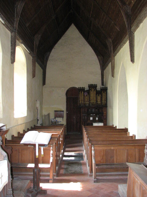 St Gregory's Church, Heckingham - view west