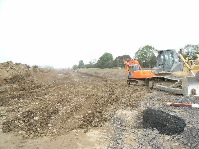 M3 Construction Near Ardbraccan, Co. Meath