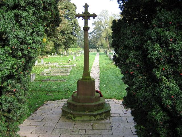 Moreton Say Graveyard
