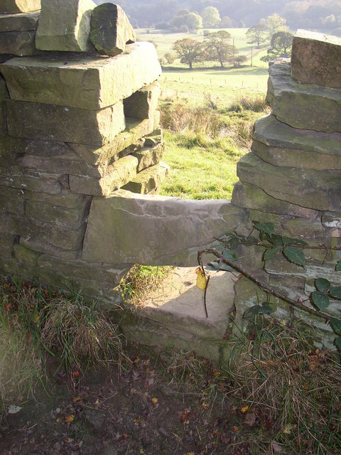 Stile, Fall lane, Shibden Dale, Northowram
