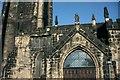 SE0925 : Halifax Parish Church doorway by Alan Longbottom