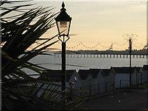 TM3034 : View towards Felixstowe pier from Spa Pavilion by Zorba the Geek