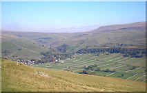 SD9771 : Fields near Kettlewell by John Illingworth