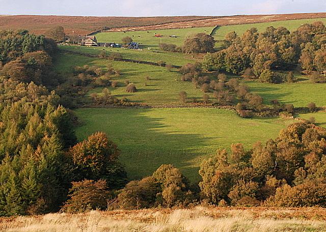 Across the valley to Oaks Farm