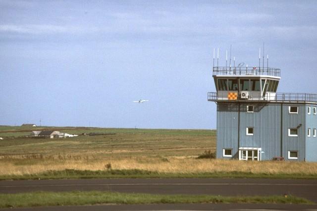 Control Tower at Kirkwall Airport