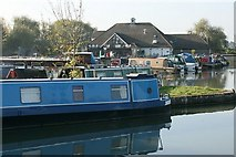 ST8359 : 2007 : Bradford on Avon Marina by Maurice Pullin