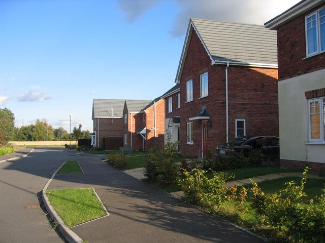 New housing in Whaplode