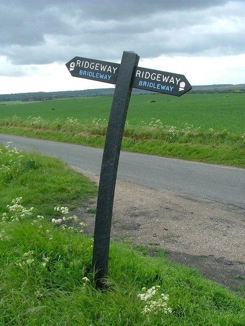 Ridgeway signpost