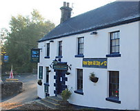 SK2375 : The Moon Inn Stoney Middleton by Roger Temple