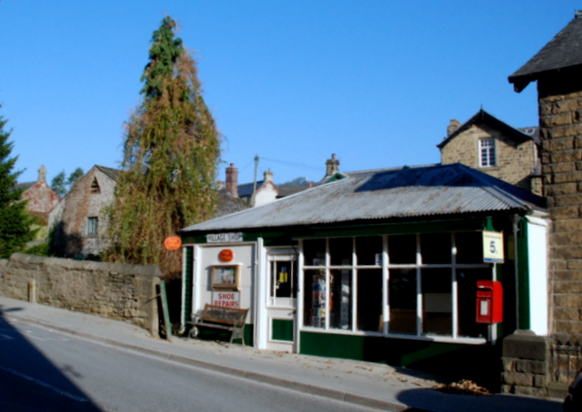 The former sub Post Office and village store