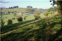 SK2375 : Over the fields towards Eyam by Roger Temple