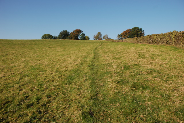 The footpath up to New Road