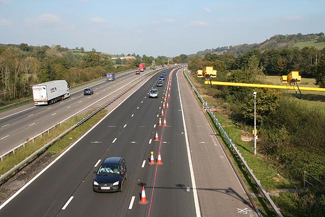 Bradninch: M5 Motorway