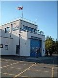 SZ3394 : Lymington Lifeboat Station by Margaret Sutton