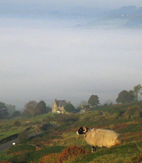 Fog in the Derwent valley
