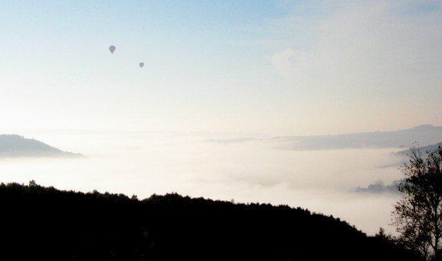 Balloons over Grindleford