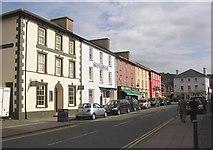 SN4562 : Market Street (Heol y Farchnad), Aberaeron by Humphrey Bolton