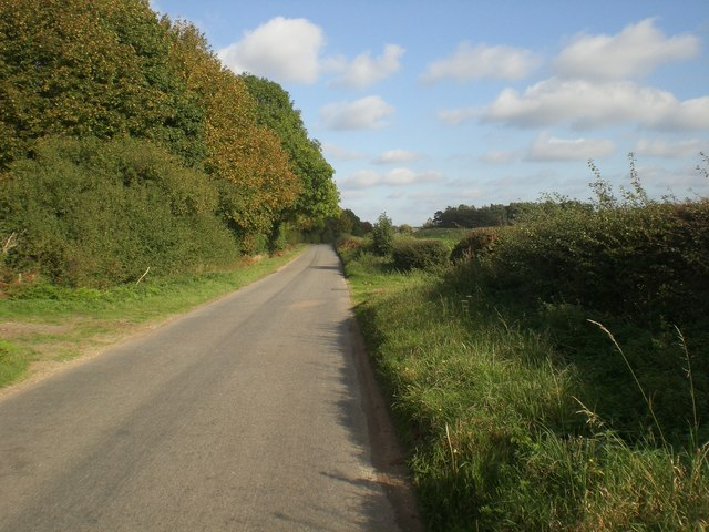 Road to east towards Massingham