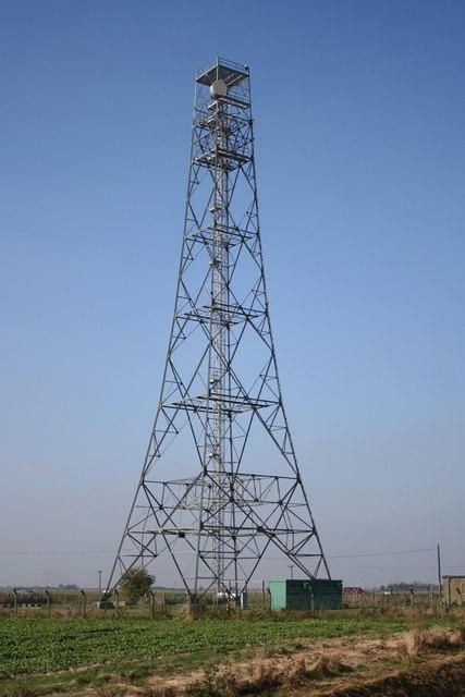 St.James' Bridge radio mast