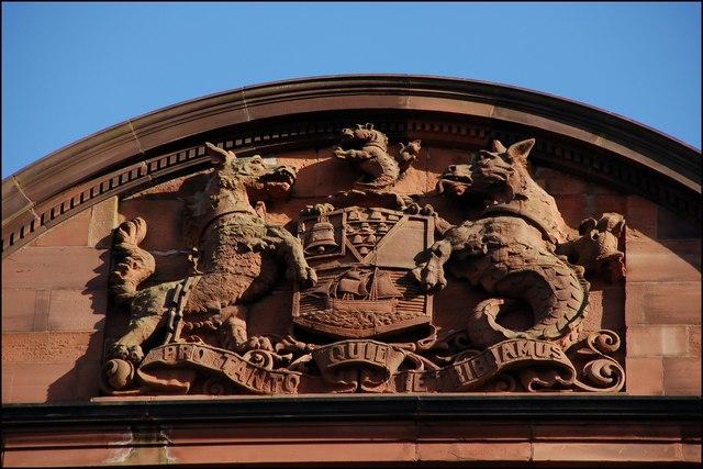 Former Fulton's warehouse, Belfast (detail)