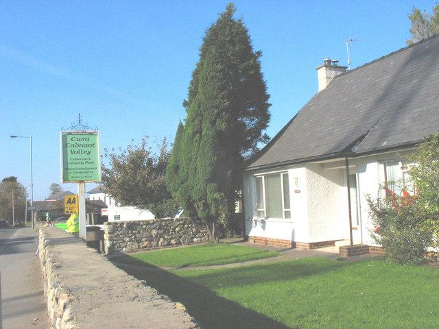 The Cwm Cadnant Valley Caravan Park, Llanberis Road