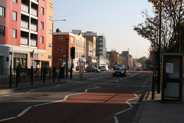 Commercial Road, looking east