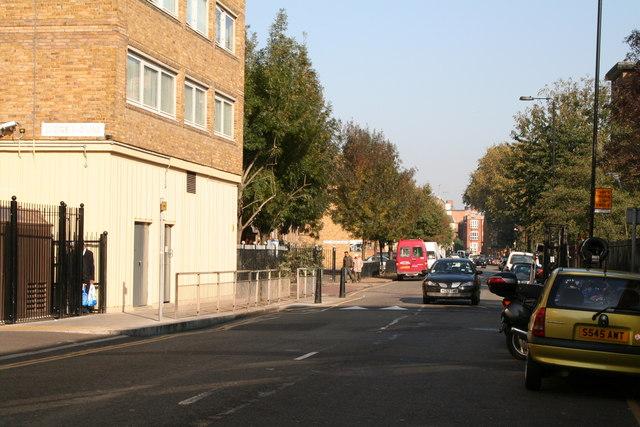 Sidney Street, south end