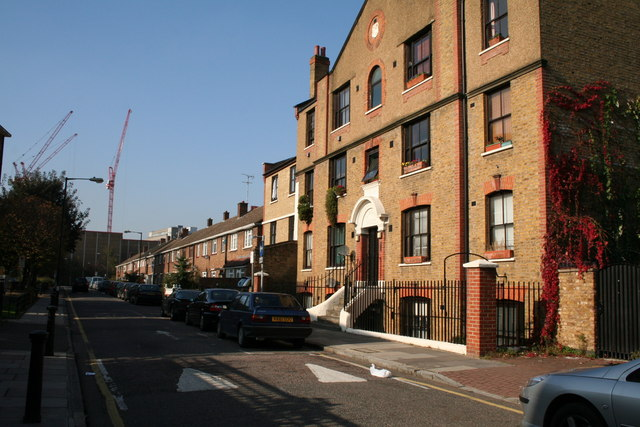 Lindley House and Lindley Street, East London