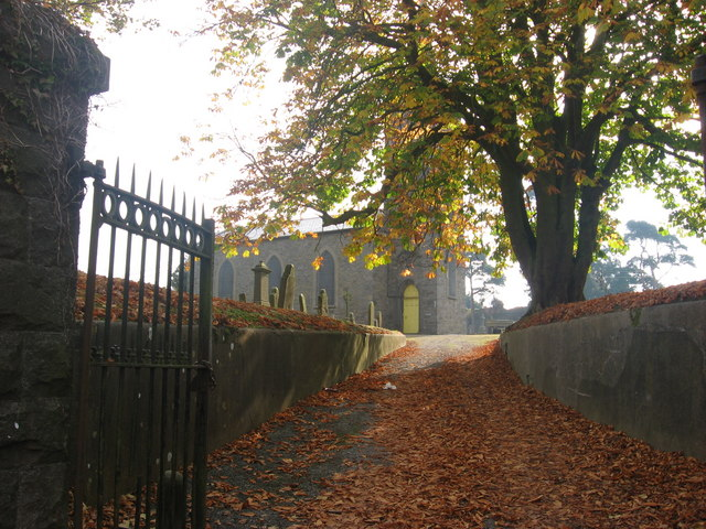 Entrance to St. Mary's churchyard, Drogheda