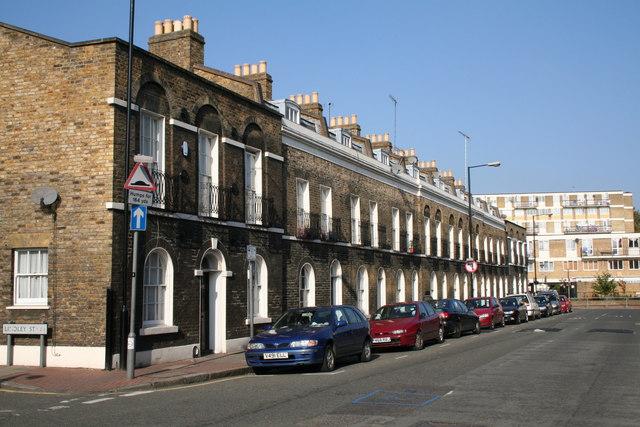 Jubilee Street, East London