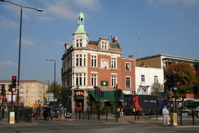 The 'White Hart', Mile End Road