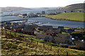 HU4139 : View over the East Voe of Scalloway by Mike Pennington