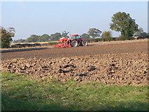 SJ4129 : We plough the fields.... by Eirian Evans