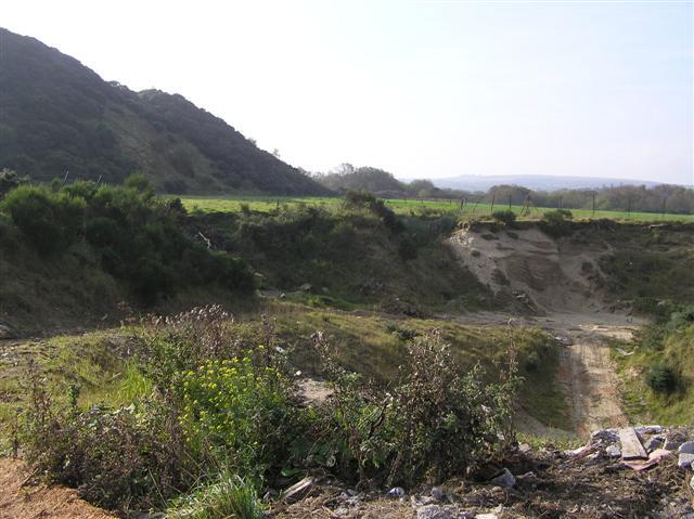 Sandpit at Dernaflaw