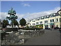 S7276 : The Liberty Tree and Carlow town centre. by Jonathan Billinger