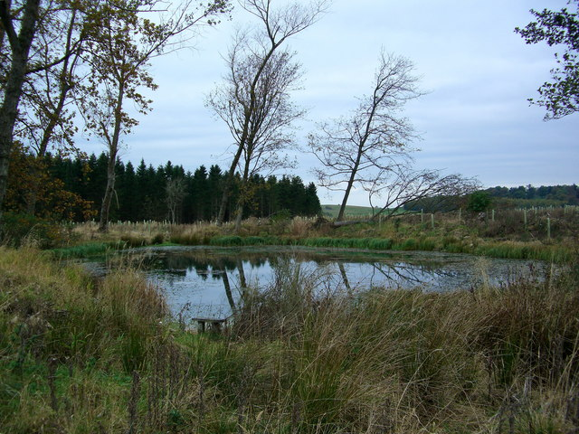 Fishing pond on Lowther Estate