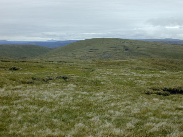 Slopes east of Cairn of Claise