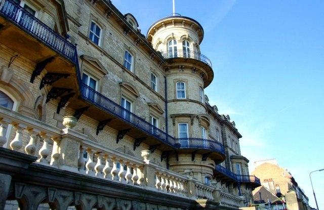 Balconies below the Turret